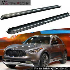 Fits for Infiniti FX 35 37 50 QX70 2009-2021 Side Step Running Board Nerf Bar