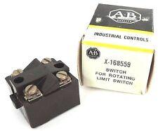 NIB ALLEN BRADLEY X-168559 SWITCH FOR ROTATING LIMIT SWITCH X168559