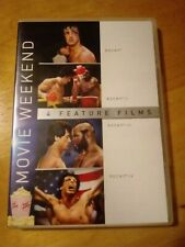 Rocky 1 2 3 4 DVD Set Sylvester Stallone Carl Weathers Dolph Lundgren Widescreen