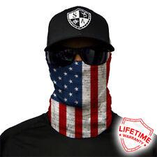 New listing Saco Face Shield Tube Bandana Mask Dunes Hunting Fishing Usa American Flag #133