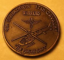 4th Squadron 17th Cavalry Armed Recon Desert Storm Army Navy Challenge Coin