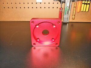Nema 23 to Nema 34 Motor Mount Adapter (6061 3/4in  Commercial Grade Adapter)