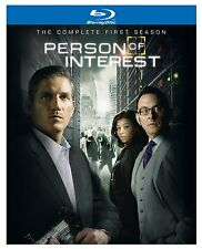 PERSON OF INTEREST: SEASON 1 BLU-RAY - THE COMPLETE FIRST SEASON [4 DISCS] - NEW