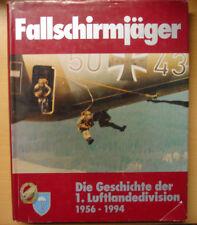 Fallschirmjäger Die Geschichte der 1 Luftlandedivision 1956-1994 Bundeswehr Buch