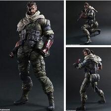Play Arts Kai Snake Metal Gear Solid V The Phantom Pain Figure Figurine Toy NB