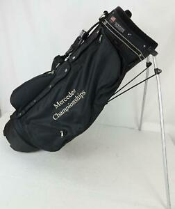 Club Glove Mercedes Championship Golf Stand Bag Black