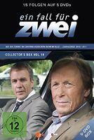 EIN FALL FÜR ZWEI - EIN FALL FÜR ZWEI COLLECTOR'S BOX 19 (F.270-284) 5 DVD NEU