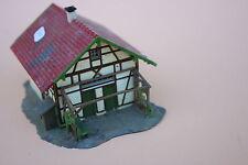 O787 Ancienne maquette Faller train Ho Maison habitation plastique colombage