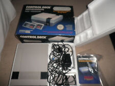 nintendo nes control deck - boxed 100% complete - fully tested and working