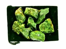 Zentron Crystal Collection 1/2 Pound Rough Natural Chrysoprase Stones - BULK RA
