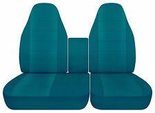 AFCC Ford F150 40-60 Highback cotton car seat covers choose 23 colors read note