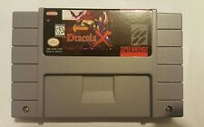 Castlevania Dracula X Super Nintendo SNES Game Reproduction FREE SHIP repro