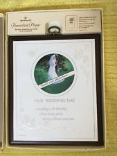 "Hallmark Vintage 1979 Personalized Plaque ""Our Wedding Day"""