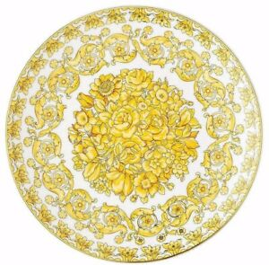 Versace Rosenthal - Dinner Plate 21 CM Medusa Rhapsody Versace - Versace Medusa