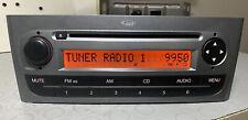 AUTORADIO CD/MP3 FIAT GRANDE PUNTO GRIGIO COMPLETO DI CODICE SBLOCCO PERFETTO