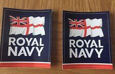 LAND ROVER MILITARE Decalcomania X2 Royal Navy