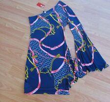LOVE CULTURE ~ New NWT Sz Small ~ One Shoulder GODDESS Jersey Bodycon MINI Dress