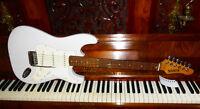 SIOUX E-Gitarre VIG16-W SSS Vintage E-Gitarre Weiß - made in Korea