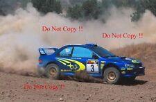 Richard Burns Subaru Impreza WRC2000 Cyprus Rally 2000 Photograph