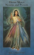Novena Prayer Book Jesus Divine Mercy Color Vintage Bonella Art Catholic Booklet