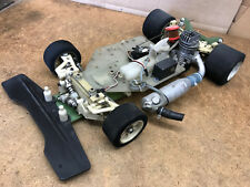 Vintage 1/8-Scale Team Associated RC500 2WD R/C Gas Racing Car