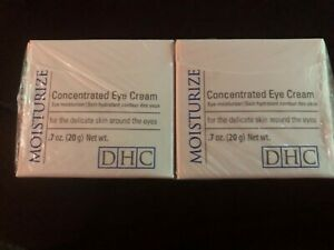 DHC Concentrated Eye Cream 0.7 oz. X TWO! TWIN PACK! New & Sealed!