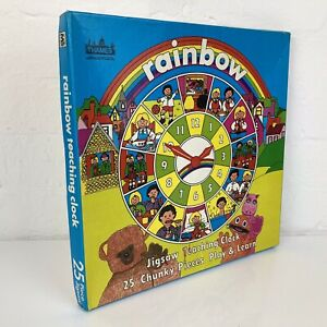 Vintage 1983 Rainbow Thames TV Show Teaching Clock Children's 25PC Jigsaw Puzzle