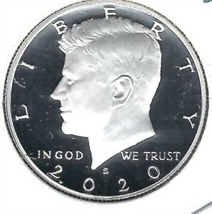 2020-S San Francisco Proof Silver Half Dollar Coin with Nice Cameo