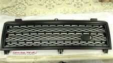 MATT BLACK FRONT GRILLE FOR RANGE ROVER L322 G203 G204 G205 2003-2005