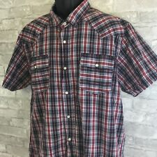 Levi's Men's XL Shirt Multicolor Striped Pearl Snap Modern Fit