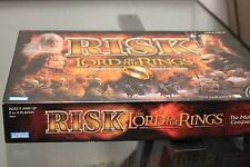 RISK The Lord of the Rings MIDDLE EARTH Board Game Parker Brothers