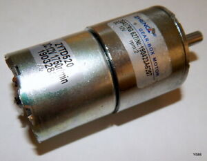 Uxcell Gearhead 12V DC Geared Motor 3500RPM 190328S ZYTD520