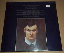 Schermerhorn GLAZUNOV Orchestral Works - Records International 7001-1 SEALED