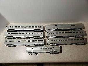 7 ATHEARN Santa Fe Passenger Cars HO Scale