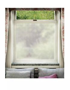 The Window Film Company Frostbite Frosted Window Film On A Roll 76cm X 2m BNIB