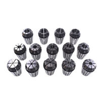 "14Pcs ER20 1/16""-1/2"" Spring Collet Set for CNC Milling Lathe Tool Workholding"