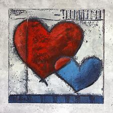 Ria Heart III póster son impresiones artísticas imagen 60x60cm