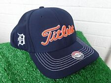 Titleist Detroit Tigers MLB Stretch Tech Fitted Golf Hat Cap NEW Medium / Large