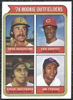 1974 Topps Ken Griffey Sr. Baseball Rookie Card RC #598 Cincinnati Reds VG-EX EX