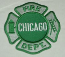 Embroidered Irish Chicago Fire Department Emblem Patch