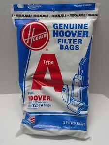 Hoover 3 Pack Type A Vacuum Cleaner Bags