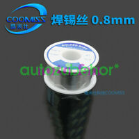 8PCS for lead-free environmentally friendly solder wire 0.8mm/1.0mm weight 50g
