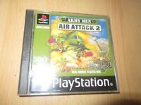 Army Men Air Attack 2 Sony PlayStation 1 ps1 mint collectors pal