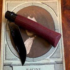 RARE Opinel N°08 Black Amarante, série limitée à 3500 exemplaires / NEUF