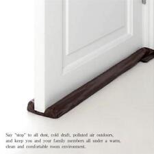 Twin Door Draft Dodger Guard Stopper Energy Saving Protector Doorstop Home  Decor