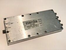NARDA 4372A-4   SMA 4 WAY RF 30W POWER DIVIDER  800MHz - 2500MHz        fbb16~12