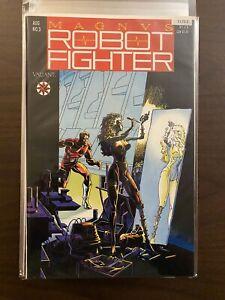 Magnus Robot Fighter 3 High Grade Valiant Comic Book CL72-1