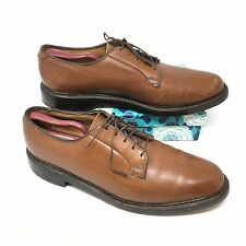 Men's VTG 1969 Florsheim Imperial 93603 Size 10.5C Oxfords Shoe Brown V CLEAT C6