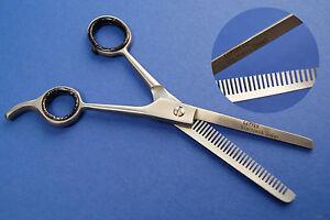 "Modellierschere Effilierschere  Haarschere Ausdünnschere 6"" Edelstahl"