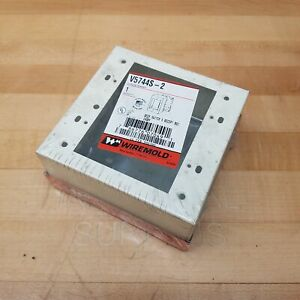 Wiremold V5744S-2 Deep Switch and Recept Box - NEW